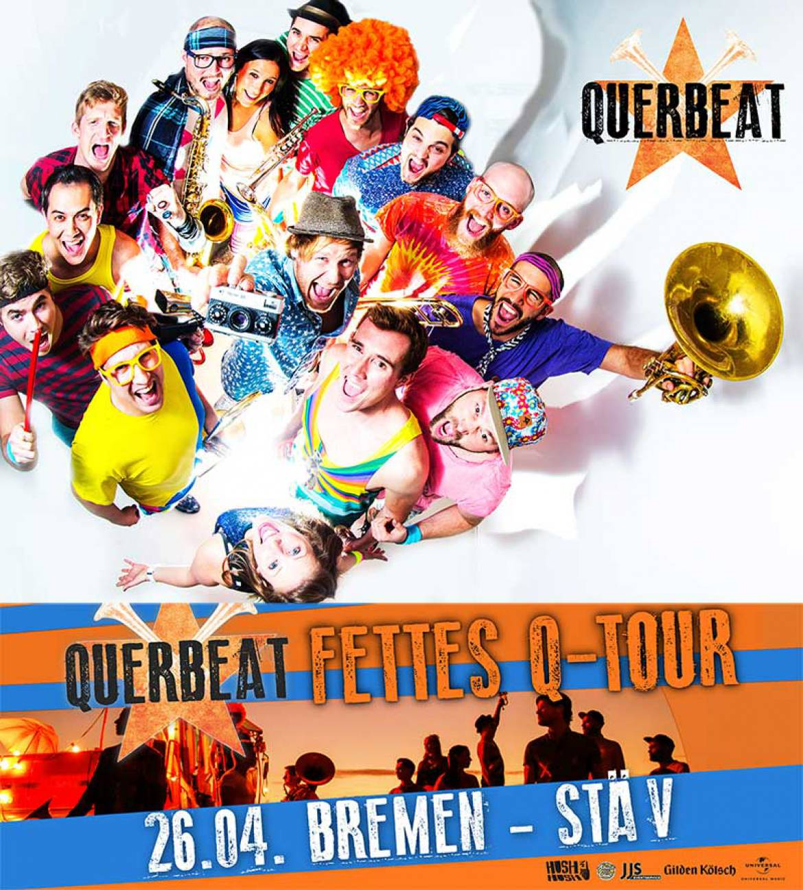 Querbeat am 26.04.2017 in der StäV Bremen